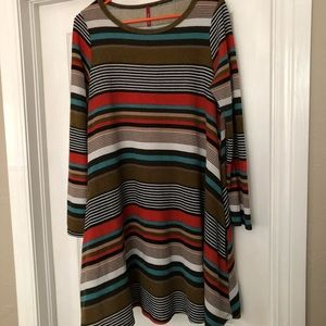 Bellamie striped dress